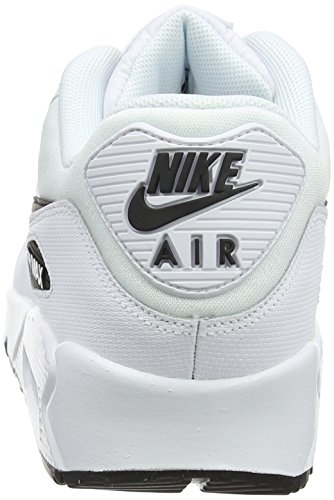 NIKE White Black Bianco Donna 131 Air 90 Running Scarpe Max SqS0wZr