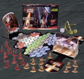 Star Wars Episode I Battle for Naboo 3-d Action Game by Hasbro Games