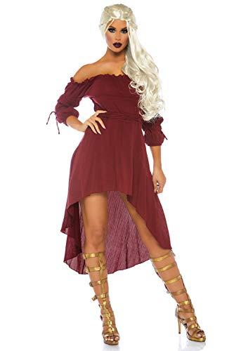 Leg Avenue Women's Costume, Burgundy, X-Large