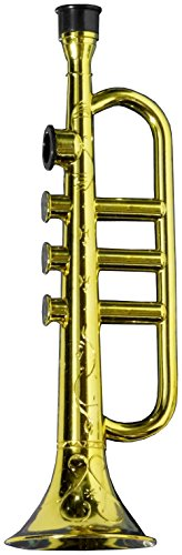 Forum Novelties Gold Trumpet Party Kazoo Play Musical Instrument
