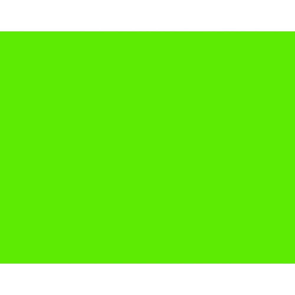BAZIC  22'' X 28'' Fluorescent Green Poster Board (Case of 25)
