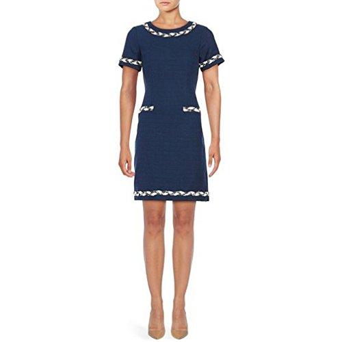 karl-lagerfeld-paris-crew-neck-cap-sleeve-crepe-sheath-dress-size-6