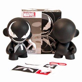 Kidrobot Marvel Mini Munny: Venom Action Figure