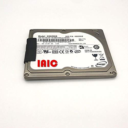HS020GB 1.8-inch Hard Drive ZIF/CE 20G Classic Drive for d430 D420 2510P 2710P Replace HS06THB