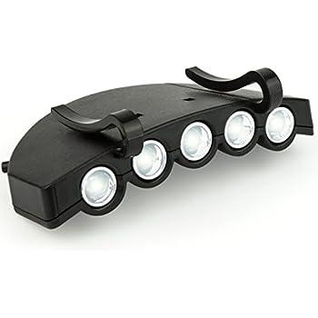Mastervision 1001 5 Led Cap Light Hat Light Amazon Com