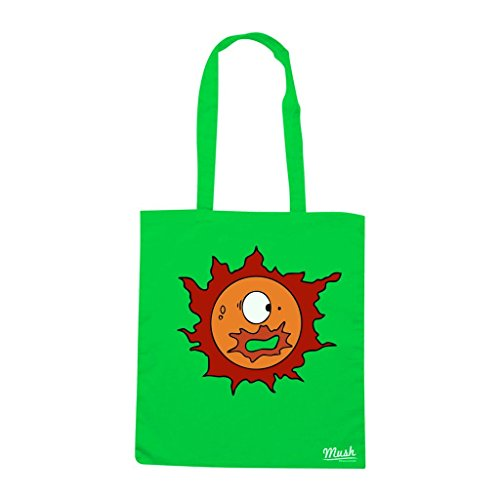 Borsa Sole Pollon 2 - Verde prato - Cartoon by Mush Dress Your Style