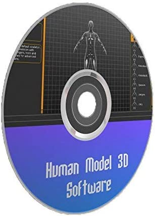 Amazon Com Human Modelling 3d Design And Rendering Software Program Windows Mac Os X