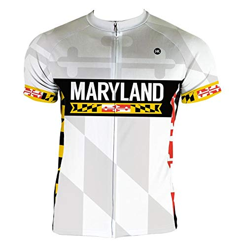 Cycling Maryland Jersey - Hill Killer Apparel Maryland 2.0 Cycling Jersey (Small)