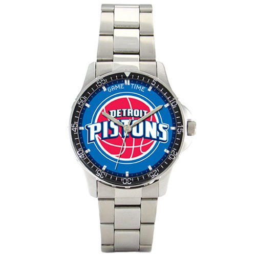 NBA Men's BC-DET Detroit Pistons Coach Series Watch