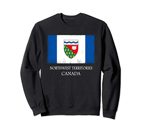 - Northwest Territories Canada Province Canadian Flag   Sweatshirt