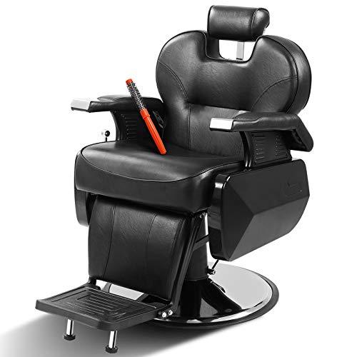Barber Chairs Heavy Duty All Purpose Salon Chair Hydraulic Recline Barber Chair Beauty Salon Equipment w/Comb