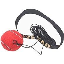 LTUI Boxing speed ball precision magic ball visual dynamic training reaction ability ball (red)