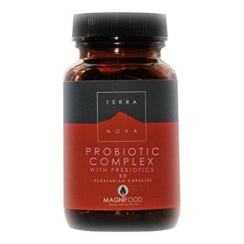 TERRANOVA Probiotic Complex With Prebiotics - 50 Vegicaps