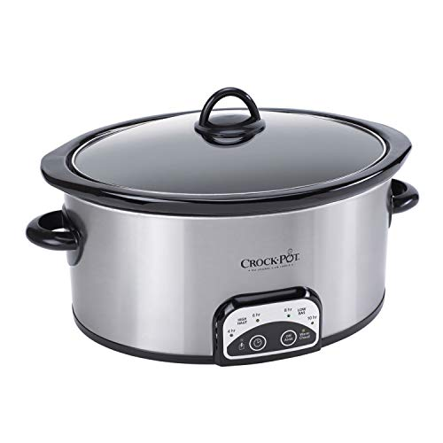 (Crock-Pot 4-Quart Smart-Pot Programmable Slow Cooker, Silver)