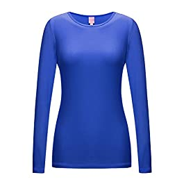 Regna X Yoga Gym Dryfit Long Sleeve Shirts for Women (Thumb Holes/we Have Plus Sizes)