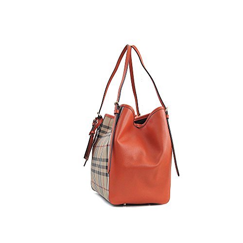 BURBERRY Horseferry Voir les petits Canterbury Panels Tote 3971216