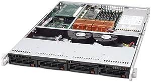 Super Micro SSERVER 6014H82B 1U DP800-X6DHR-8G2 4 SCA 500W BLK ( SYS-6014H-82B )