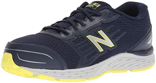 New Balance Boys' 680v5 Running Shoe, Pigment, 3.5 W US Big Kid