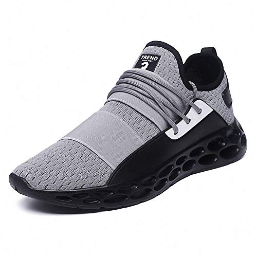 new style 9ac74 79818 Rotok Mens Running Shoes Lightweight Shock Absorber Sneakers Outdoor  Walking Sport Shoes (8 US Men