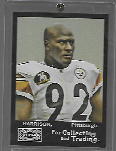 James Harrison 2008 Topps Mayo Football Rookie Card # 119 - Pittsburgh Steelers - Stored in a Protective Plastic Display Case!!
