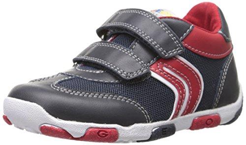Geox B Balu Boy, Zapatillas de Deporte para Niños Azul (Navy / Red)