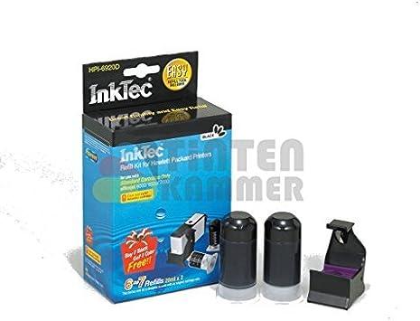 Recarga InkTec para cartuchos HP nº 301 y 301XL NEGRO PIGMENTADO, 20ml x 2: Amazon.es: Oficina y papelería