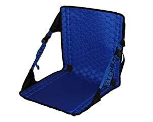 Crazy Creek Products HEX 2.0 Original Chair (Black / Royal Blue) - Lightweight and Packable Camp Chair for Hiking, Backpacking, Camping, Boating and Stadium use