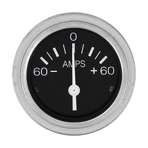 Sierra International 80710P Heavy Duty Direct Reading 60 Amp Ammeter for InBoard & Diesel Engines, 2'' by Sierra International