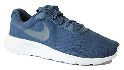 Nike Jungen Freizeitschuh Laufschuh TANJUN SE (GS) navy blau Navy/midnight Navy-White