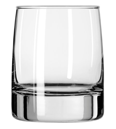 Libbey 12-Ounce Clear Vibe Double Old Fashioned Glass, Set of 12