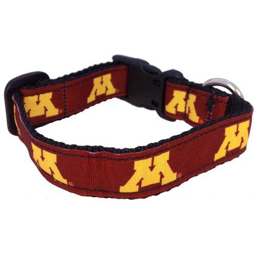 - NCAA Minnesota Golden Gophers Dog Collar, Team Color, Large