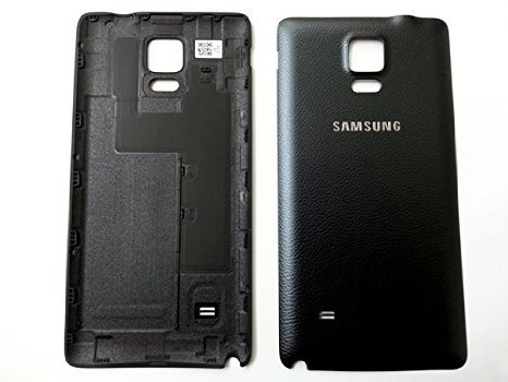 New Original Samsung Galaxy Note 4 N910F N910A N910T N910V Back Door Battery Cover with NFC (BLACK)