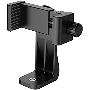 Phone Holder,by Ailun,Phone Tripod Mount Adapter,Rotatable Bracket,Selfie Monopod,Adjustable Clamp,for iPhone 7/6/6s,6/6s/7 Plus,Samsung Galaxy S8/S7/S7 Edge,S6/S6 Edge&More Cellphone[Black]