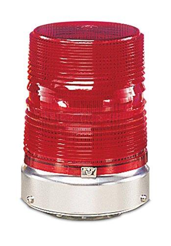 Federal Signal 131ST-120R Starfire Strobe Warning Light, Single Flash, 1/2