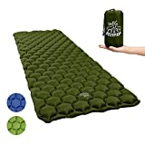 Ultralight Inflatable Sleeping Pad, Compact Camping Sleeping Pad Lightweight for Backpacking, Traveling, Hiking