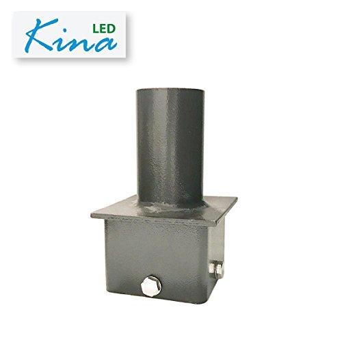 LED Shoebox Tenon by Kina LED - Single Vertical Bracket Adapter for 4