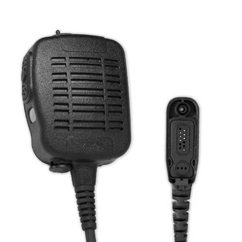 ARC S51075 Heavy Duty Anti-Magnetic Speaker Shoulder Microphone for Motorola Multi-Pin XPR and APX Series Two Way Radios (See List) by ARC