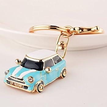 Amazon Com Mini Cooper 3d Metal Logo Car Key Chain Ring Marked
