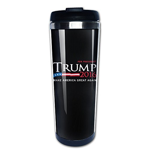 [Donald Trump ~ Make America Great Again Stainless Steel Vacuum Travel Mugs 13.6oz] (Clinton Lewinsky Costume)