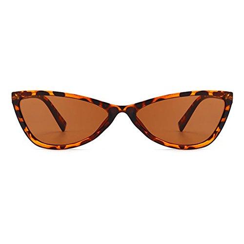 Eye de Lunettes C3 Lunettes Style Transparent de Femme soleil Cat Vintage juqilu Homme Lunettes soleil Triangle Lentille wAqaU8