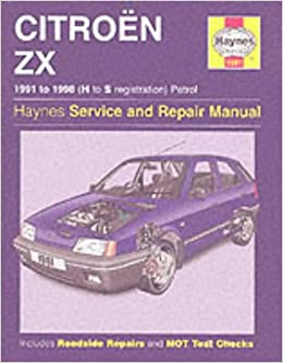 Citroen ZX Petrol/service and Repair Manual: 1991-1998 Haynes Service and Repair Manuals: Amazon.es: Mark Coombs: Libros en idiomas extranjeros