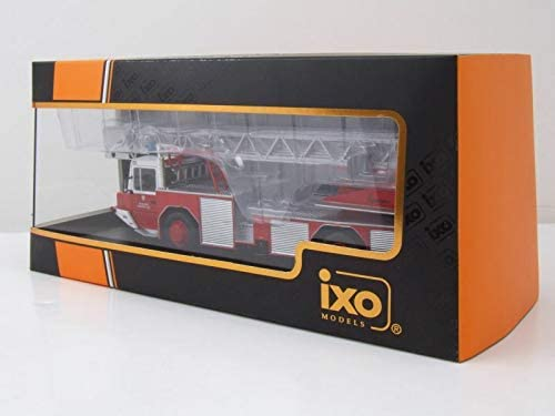 NEW Magirus DLK 2312 Feuerwehr Frankfurt Am Main 1//43 Ixo Modell Auto mit individiuellem Wunschkennzeichen