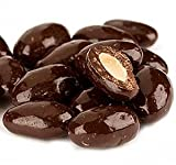 Dark Chocolate Covered Almonds 1 lb