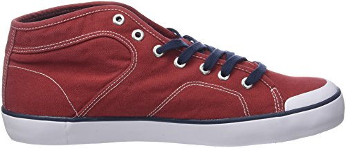Kaporal Kiriel, Baskets Hautes Homme Rouge (Rouge)