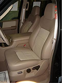 TO FIT A FORD TRANSIT MOTORHOME 2003 KASHMIR GOLD SEAT COVERS 2 FRONTS