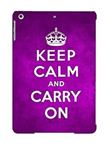 New Arrival Keep Calm And Carry On For Ipad Air Case Cover Pattern For Gifts