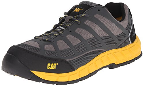 Caterpillar Men's Streamline ESD Comp Toe Work Shoe, Grey, 9 M US by Caterpillar