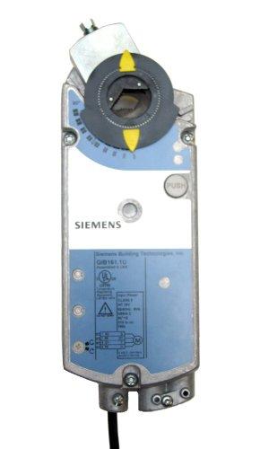 Siemens GIB161.1U Non-Spring Return Electric Damper Actuator, 0 to 10 Vdc Modulating Control, Standard Cabling