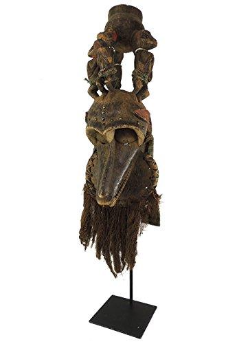 ith Monkey Figures on Top African Art ()