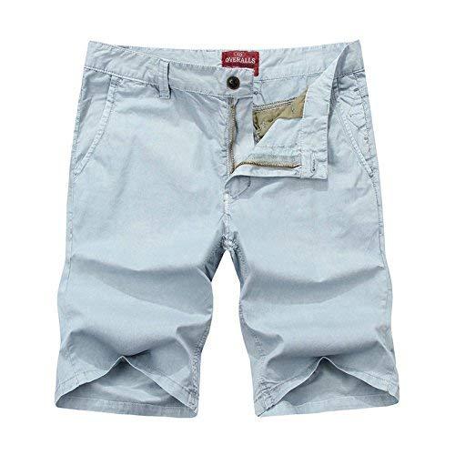 Para Sueltos Slim Cotton Hombres Light Fit Mode Playa Marca Verano Casual Cortos Pantalones Casuales Grey Hombre De Bq8Z68Ovw